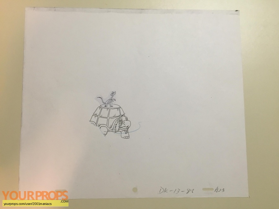 Dink  the Little Dinosaur original production artwork