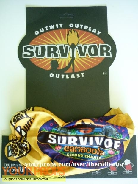 Survivor Cambodia original movie prop