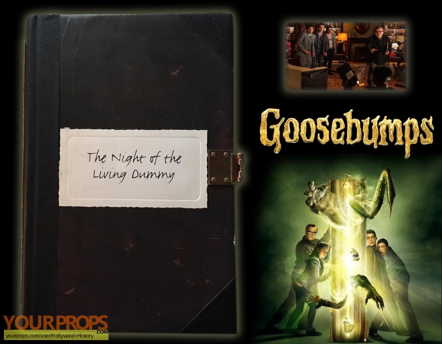 Goosebumps original movie prop