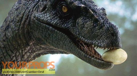 Jurassic Park 3 original movie prop