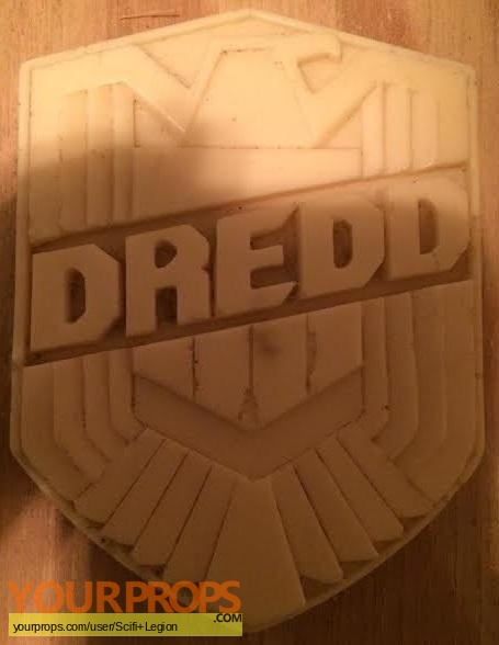 Dredd original movie prop