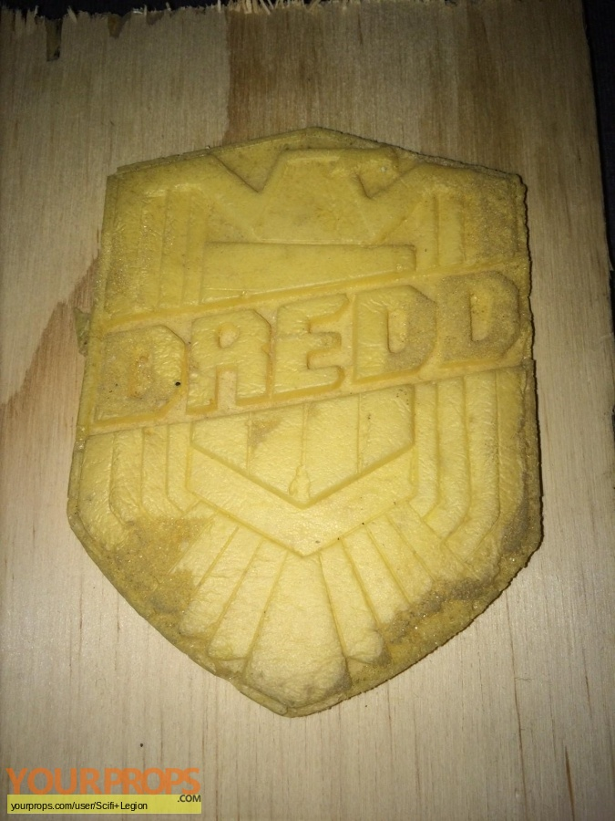 Dredd original movie prop
