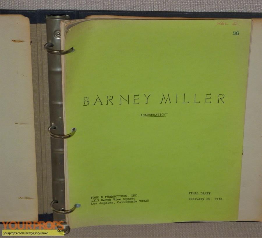 Barney Miller original production material