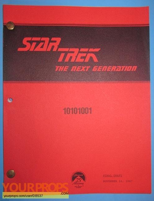 Star Trek  The Next Generation original production material