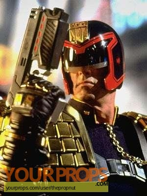 Judge Dredd original movie prop
