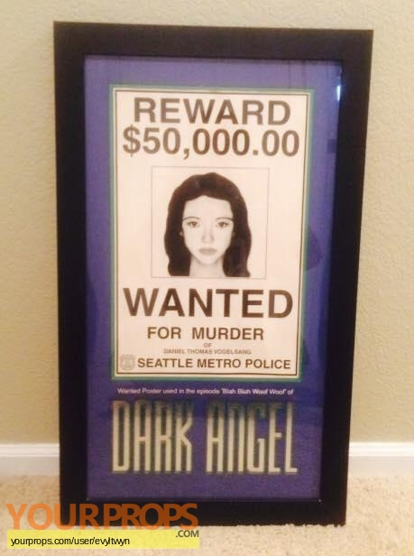 Dark Angel original movie prop