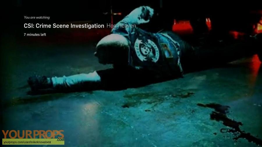 CSI  Crime Scene Investigation original movie costume