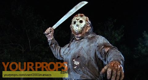 Friday the 13th  Part 8  Jason Takes Manhattan replica movie prop