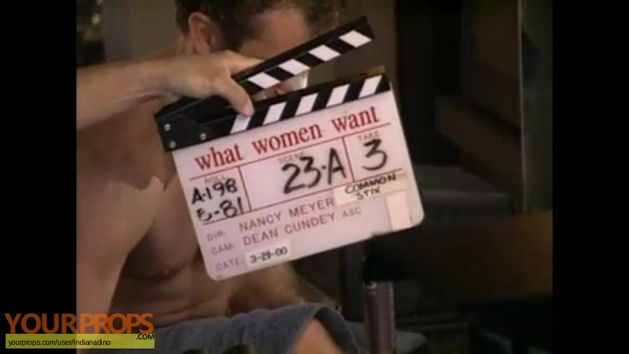 What Women Want original production material