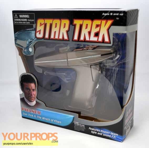 Star Trek II  The Wrath of Khan replica movie prop