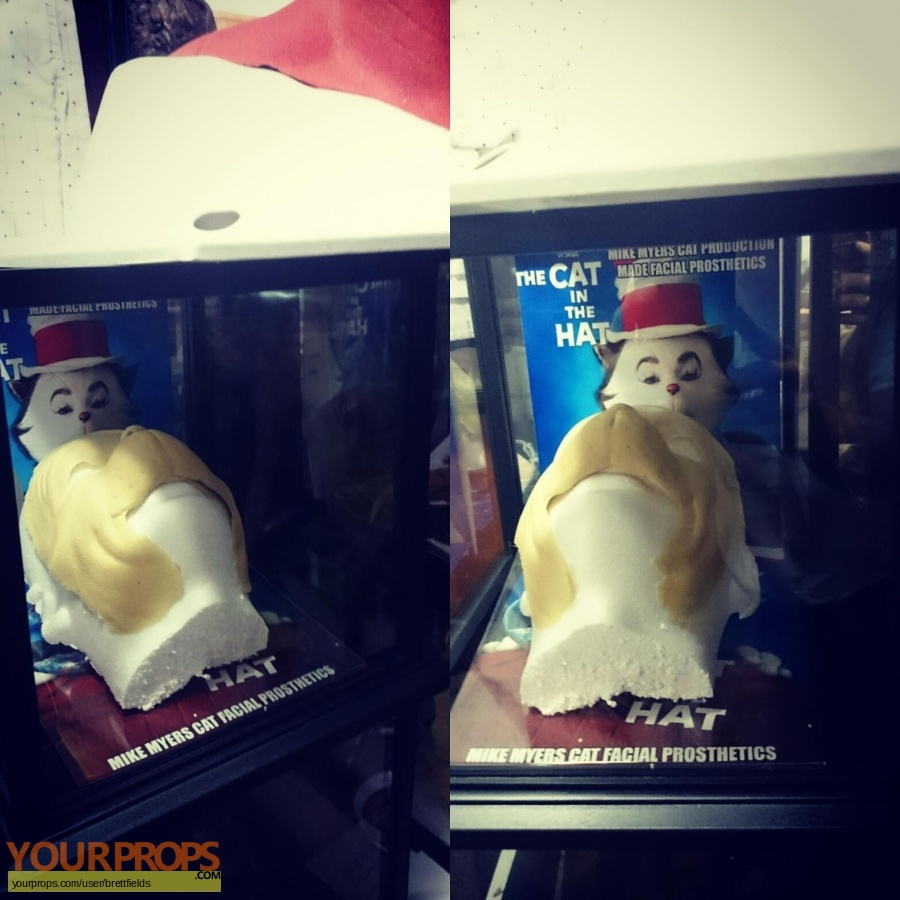 The Cat in the Hat original make-up   prosthetics