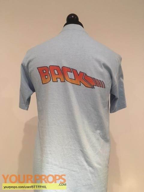 Back To The Future original film-crew items