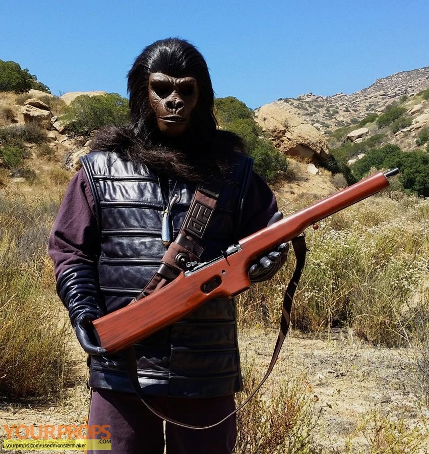Beneath the Planet of the Apes made from scratch movie prop