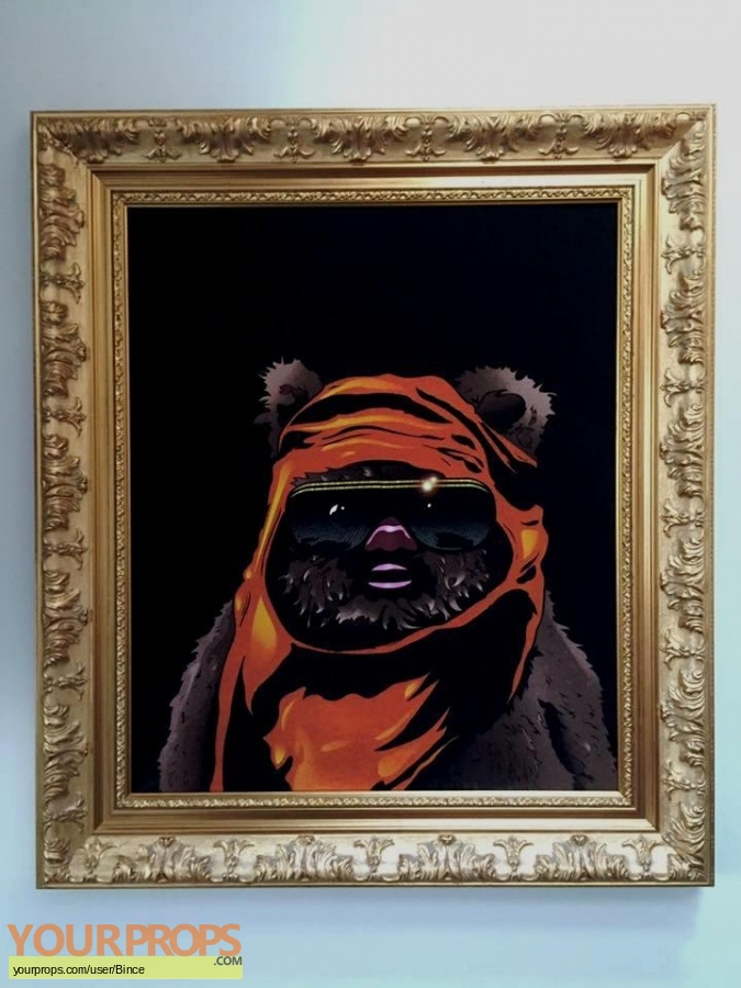 Star Wars  Return Of The Jedi replica production artwork