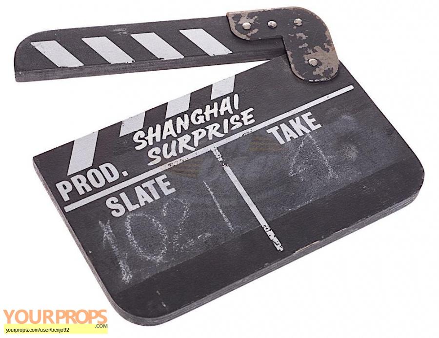 Shanghai Surprise original production material