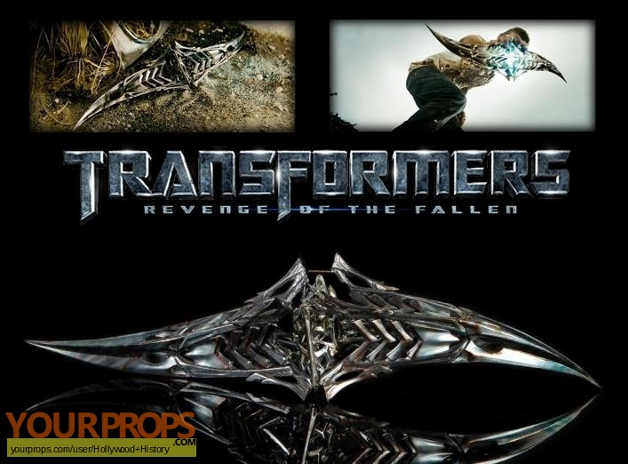 Transformers  Revenge of the Fallen original movie prop