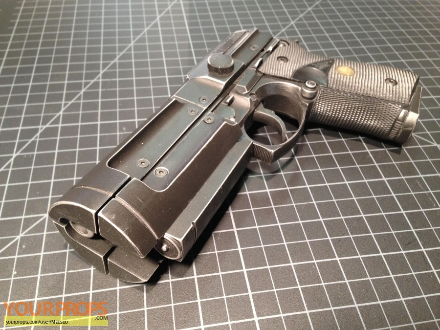 TimeCop replica movie prop weapon