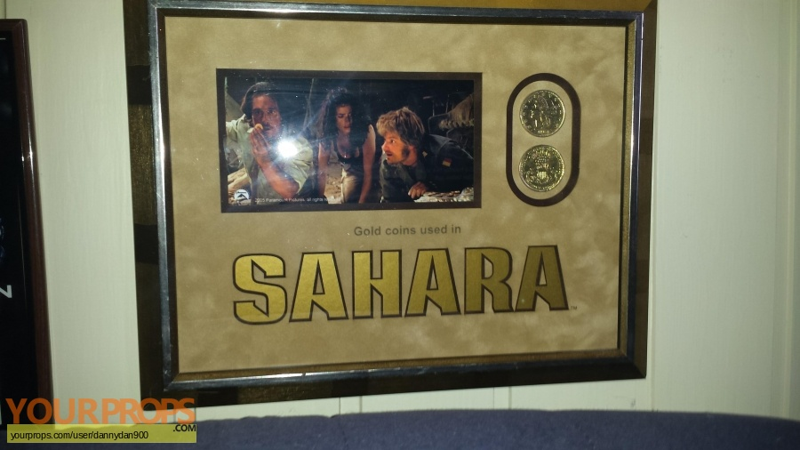 Sahara original movie prop