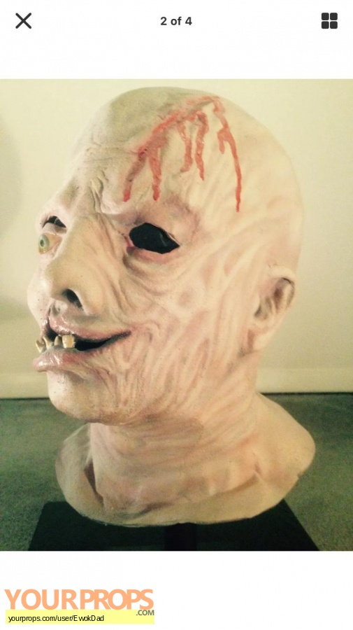 Friday the 13th  Part 4  The Final Chapter replica make-up   prosthetics