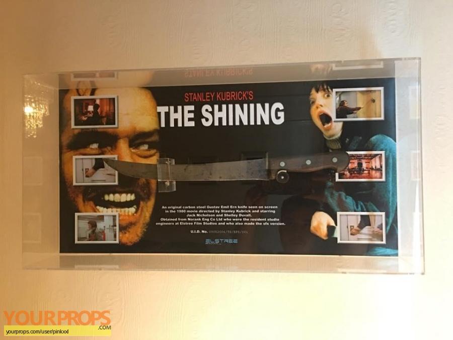 The Shining original movie prop