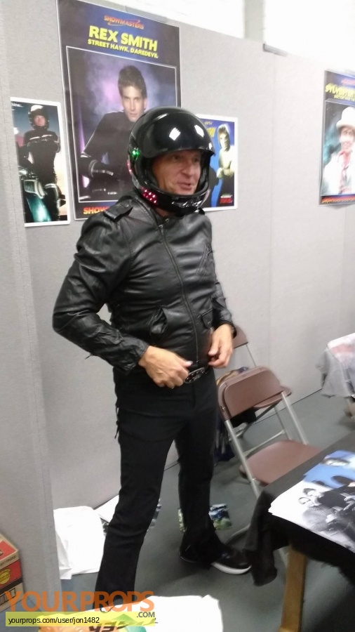 Street Hawk made from scratch movie costume