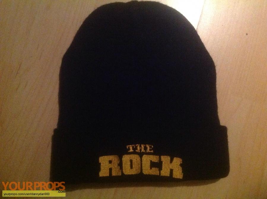 The Rock original film-crew items
