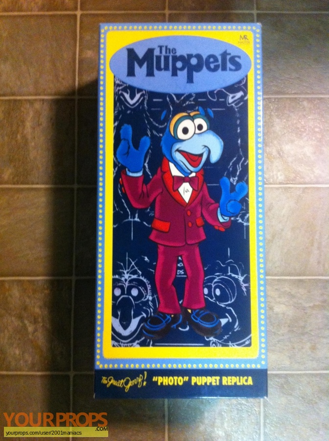 The Muppet Show Master Replicas movie prop