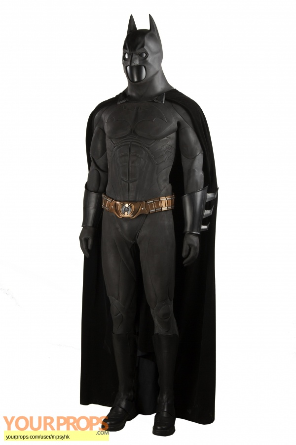 Batman Begins original movie costume