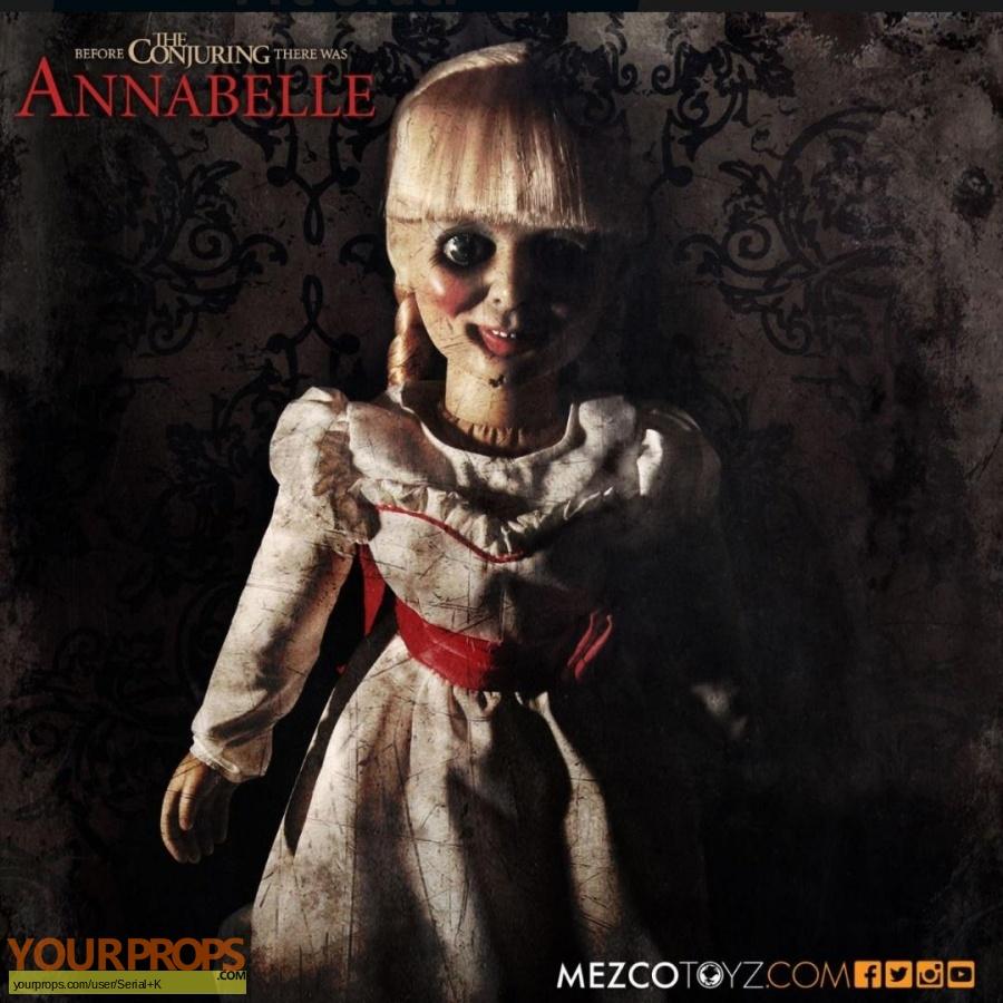 Annabelle replica model   miniature