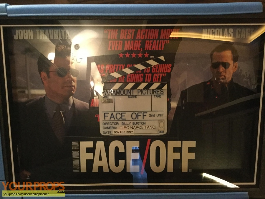 Face Off original production material