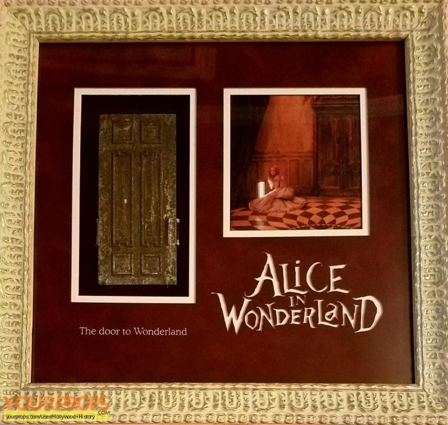 Alice In Wonderland original movie prop