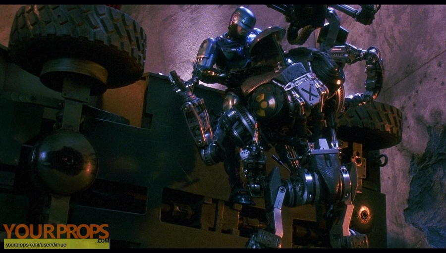 Robocop 2 original production material