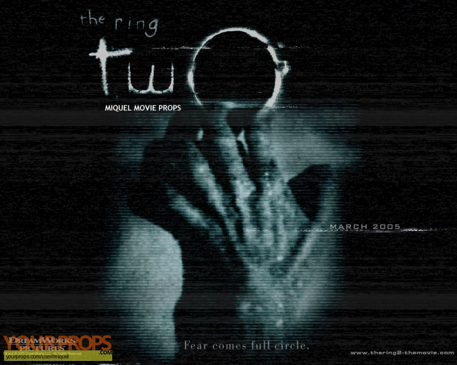 The Ring Two original make-up   prosthetics