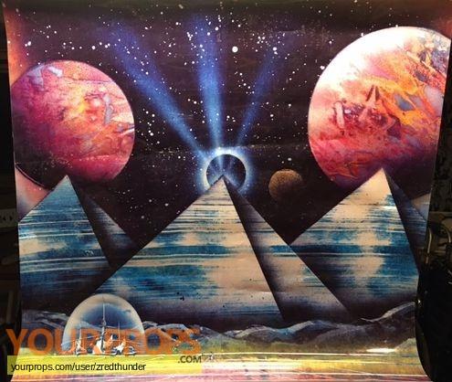 Star Trek the Experience  The Klingon Encounter original production artwork