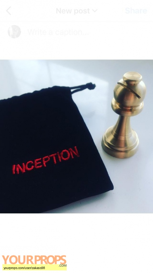 Inception made from scratch movie prop