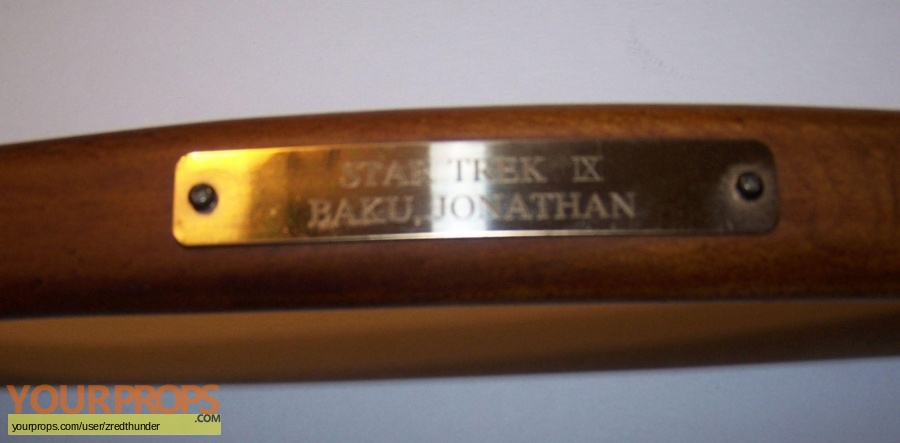 Star Trek  Insurrection original film-crew items