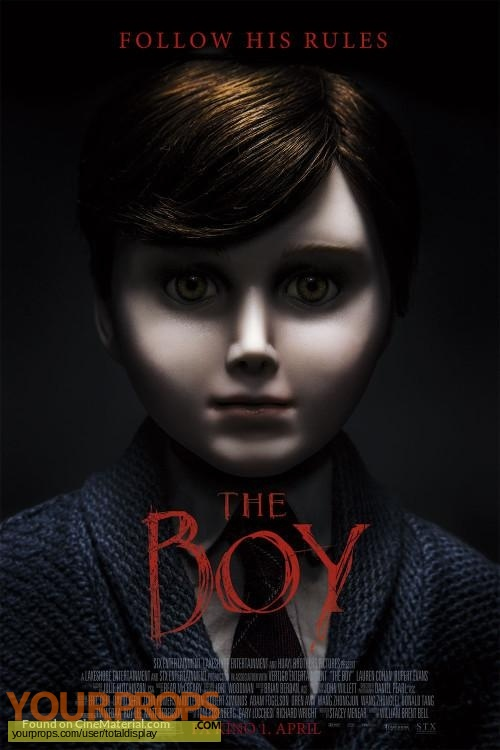 The Boy original movie costume