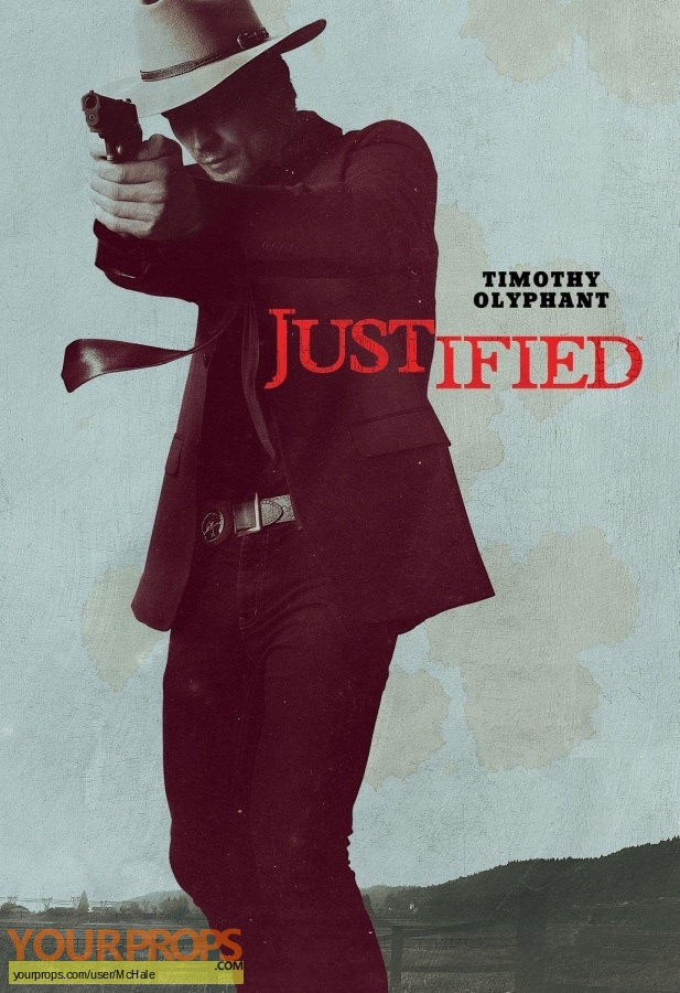 Justified replica movie prop