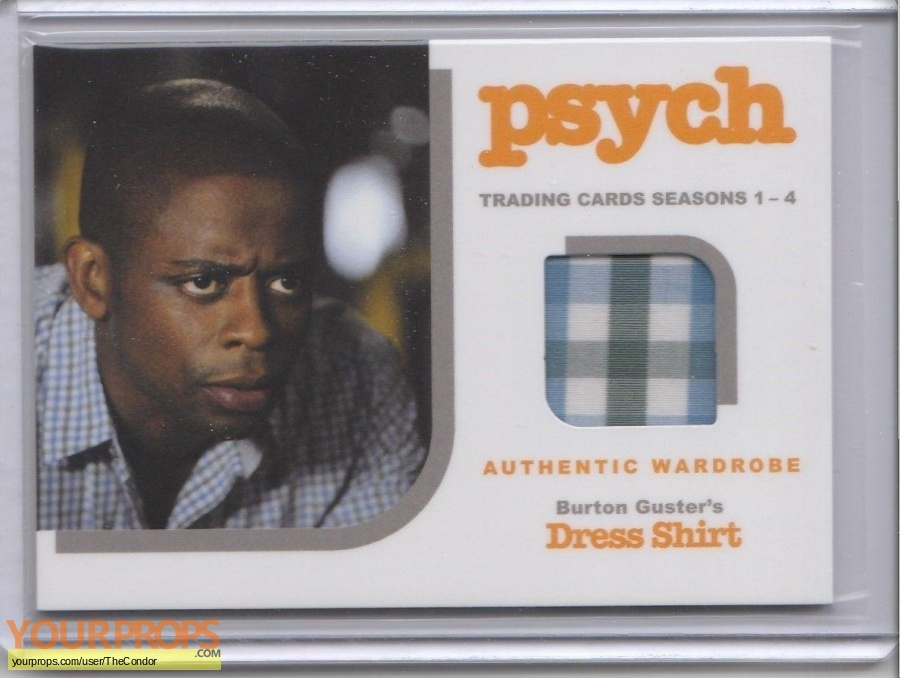 Psych swatch   fragment movie costume