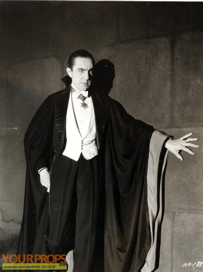 Dracula made from scratch movie costume