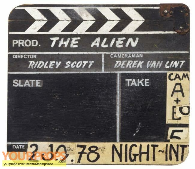 Alien original production material
