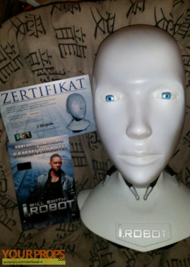 I  Robot replica movie prop