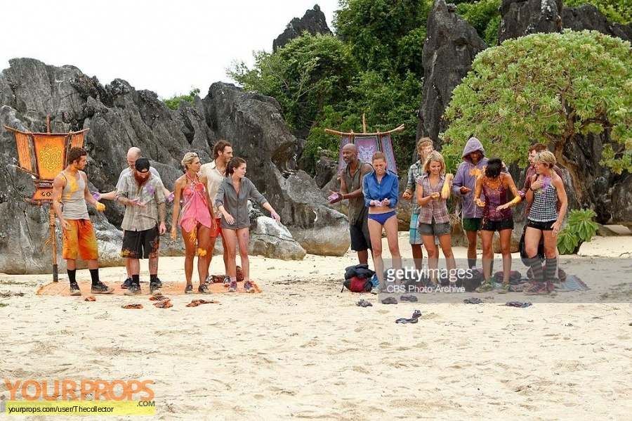 Survivor Caramoan - Fans vs Favorites original movie prop