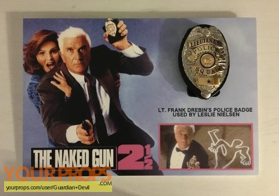 The Naked Gun 2   The Smell of Fear original movie prop