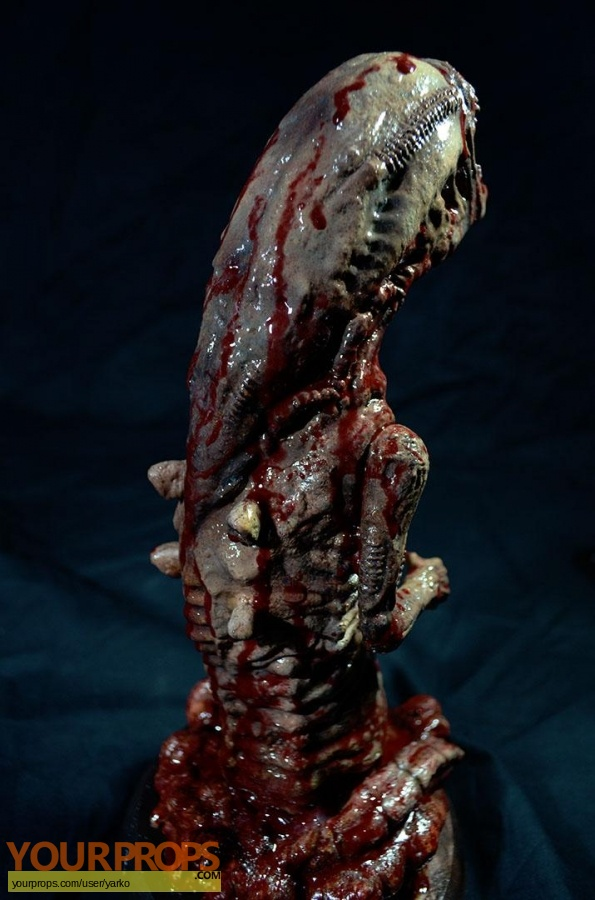 Alien made from scratch movie prop