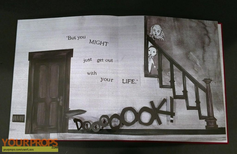 The Babadook The Babadook pop-up book replica movie prop