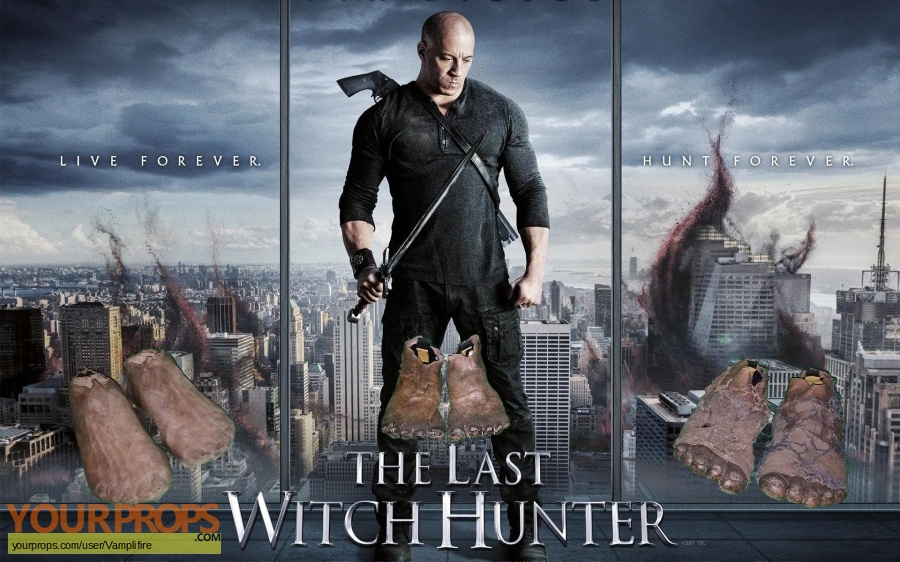 The Last Witch Hunter original movie prop