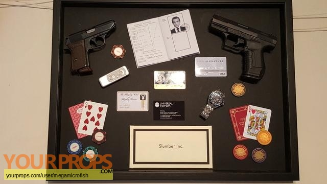 James Bond  Diamonds Are Forever replica movie prop