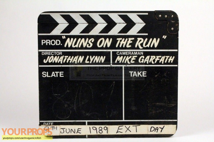 Nuns on The Run original production material