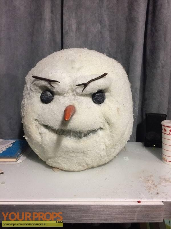 Jack Frost 2  Revenge of the Mutant Killer Snowman original movie prop
